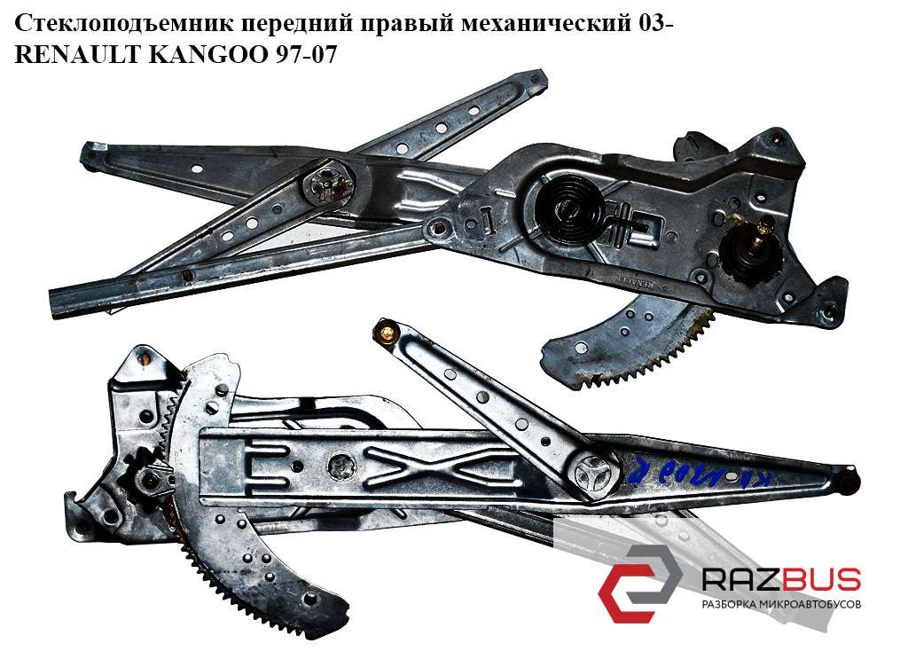 Стеклоподъемник передний правый мех. 03- NISSAN KUBISTAR 2003-2008г