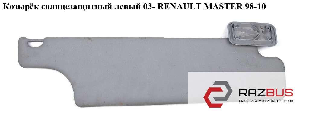 Козырёк солнцезащитный левый 03- RENAULT MASTER II 1998-2003г