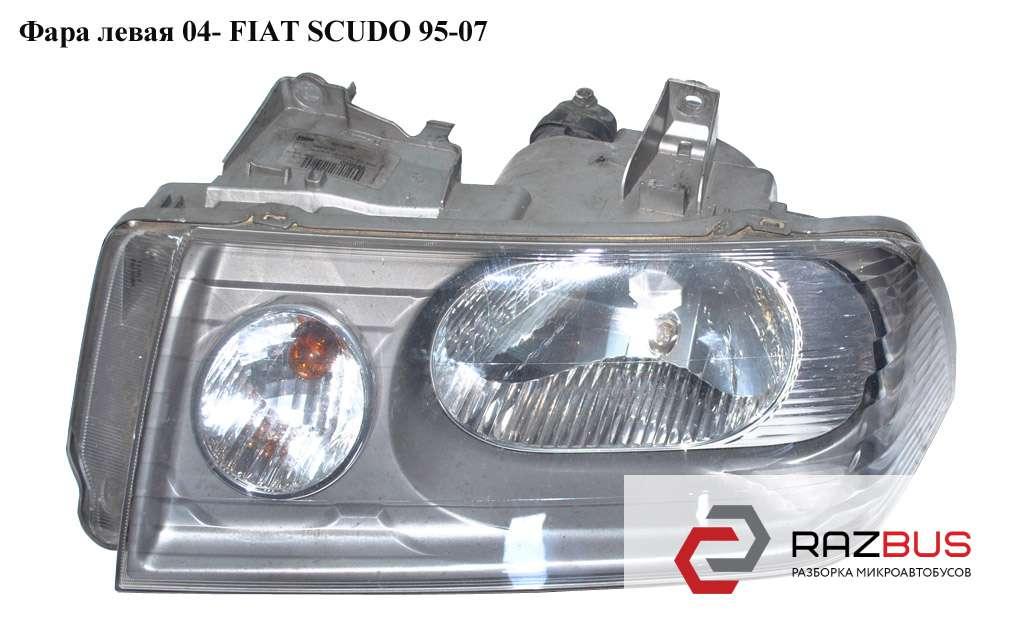2396092E, 9406208288 Фара левая 04- FIAT SCUDO 2004-2006г