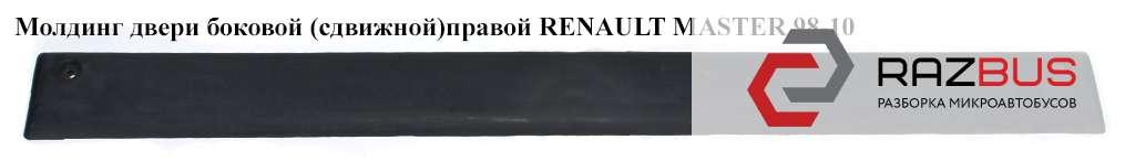 7701692582 Молдинг двери боковой (сдвижной) правой OPEL MOVANO 1998-2003г