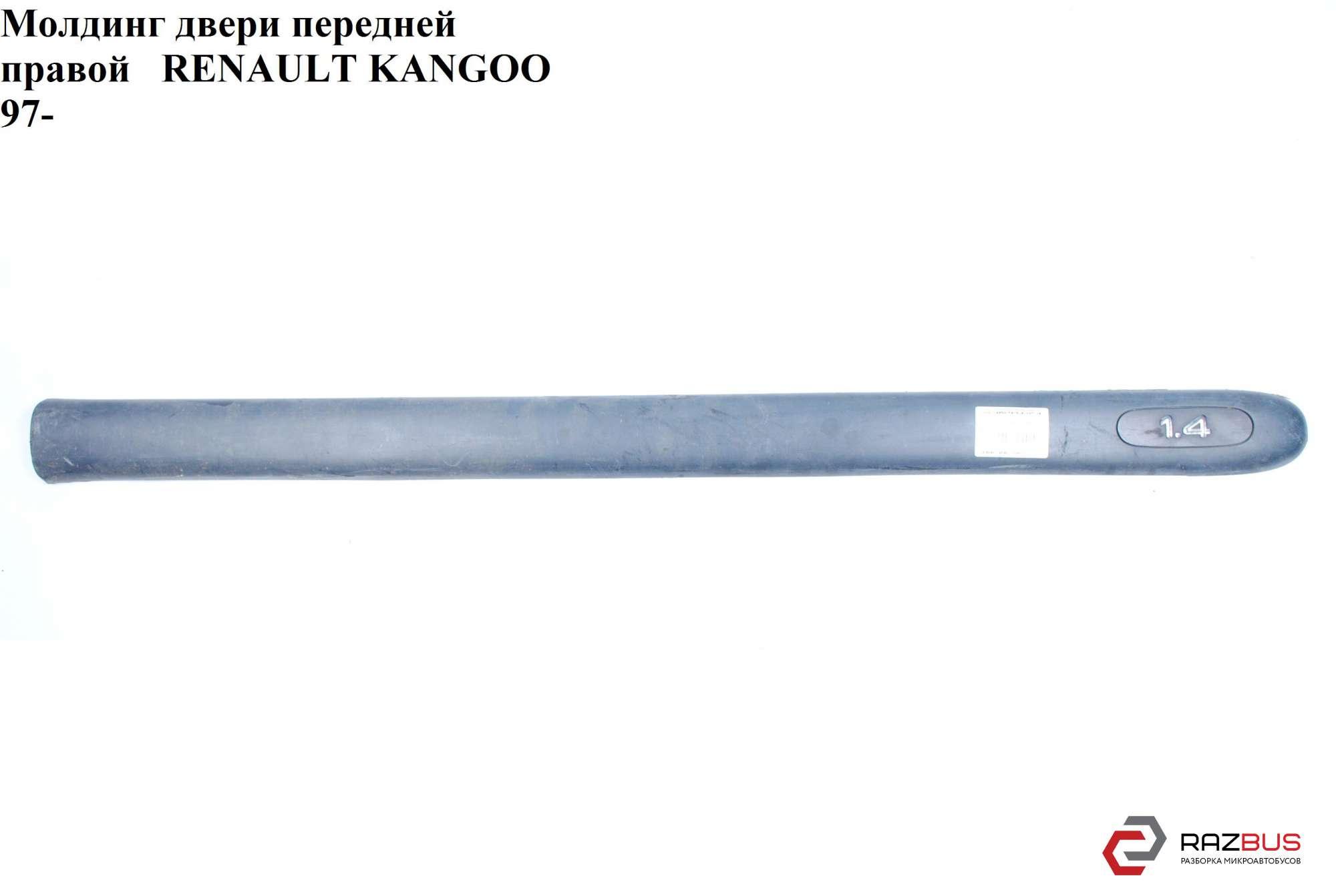 Молдинг двери передней правой h6,5 RENAULT KANGOO 1997-2007г