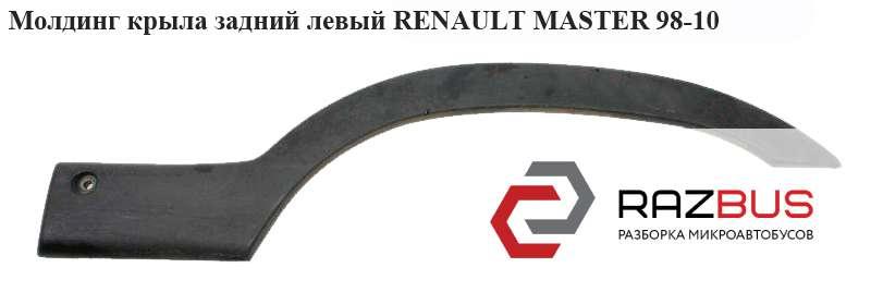 4501351, 7701692572 Молдинг крыла задний левый RENAULT MASTER II 1998-2003г
