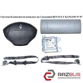 Система безопасности на 2 подушки 03- RENAULT KANGOO 1997-2007г