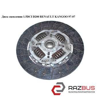 Диск сцепления 1.5DCI D200 RENAULT KANGOO 1997-2007г