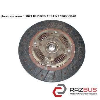 Диск сцепления 1.5DCI D215 RENAULT KANGOO 1997-2007г