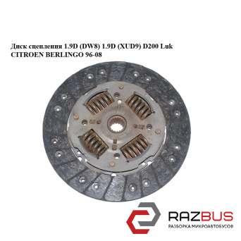 Диск сцепления 1.9D (DW8) 1.9D (XUD9) D200 Luk CITROEN BERLINGO M59 2003-2008г CITROEN BERLINGO M59 2003-2008г