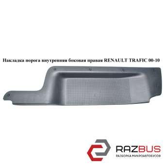 Накладка порога внутренняя боковая правая RENAULT TRAFIC 2000-2014г