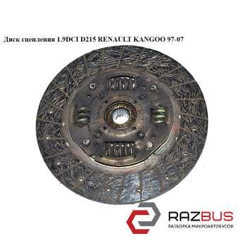 Диск сцепления 1.9DCI 1.9DTI D215 RENAULT KANGOO 1997-2007г
