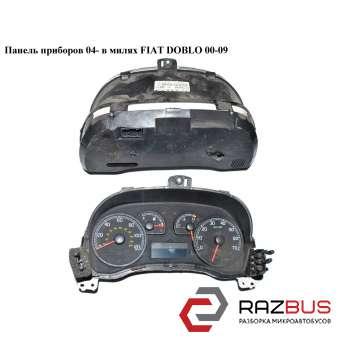 Панель приборов 04- в милях FIAT DOBLO 2000-2005г