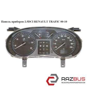 Панель приборов -06 тах.60 спид.200 RENAULT TRAFIC 2000-2014г