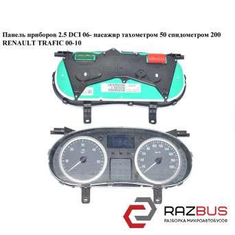 Панель приборов 06- тах.50 спид.200 RENAULT TRAFIC 2000-2014г RENAULT TRAFIC 2000-2014г