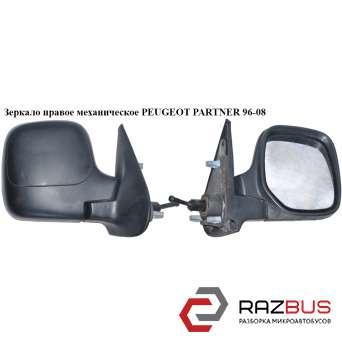Зеркало правое механическое PEUGEOT PARTNER M59 2003-2008г