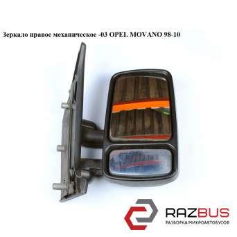 Зеркало правое механическое -03 OPEL MOVANO 1998-2003г