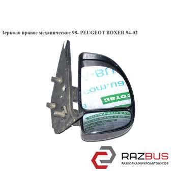 Зеркало прав мех 98- FIAT DUCATO 230 Кузов 1994-2002г