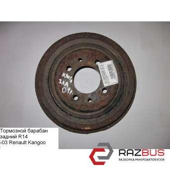 Тормозной барабан задний (2-х торсионная) RENAULT KANGOO 1997-2007г