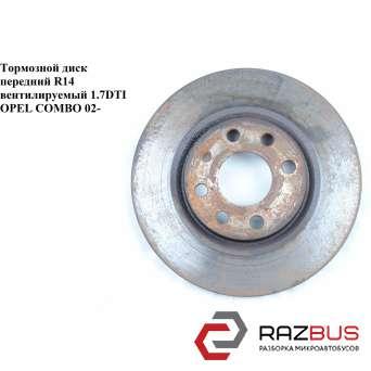 Тормозной диск передний D260 4 болта OPEL COMBO 2001-2011г