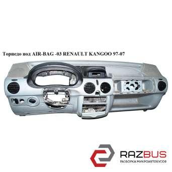 Торпедо под AIR-BAG -03 RENAULT KANGOO 1997-2007г