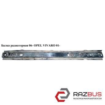 Балка радиаторная 06- RENAULT TRAFIC 2000-2014г RENAULT TRAFIC 2000-2014г
