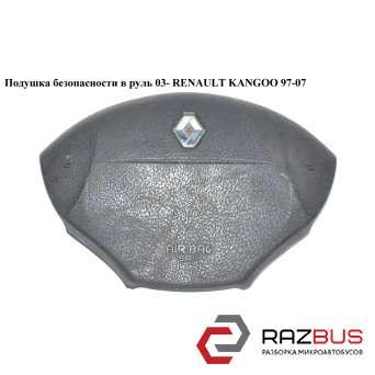 Подушка безопасности в руль 03- на 3 спицы RENAULT KANGOO 1997-2007г