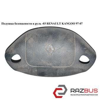 Подушка безопасности в руль -03 на 2 спицы RENAULT KANGOO 1997-2007г