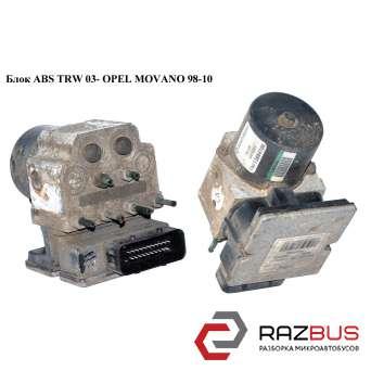Блок ABS TRW 03- RENAULT MASTER II 1998-2003г