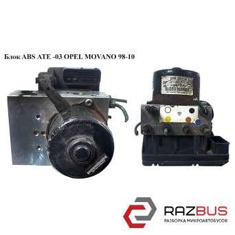 Блок ABS АТЕ -03 RENAULT MASTER II 1998-2003г