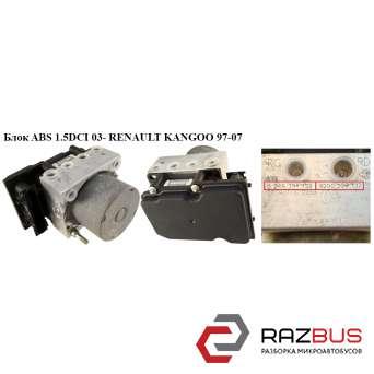 Блок ABS Bosch RENAULT KANGOO 1997-2007г