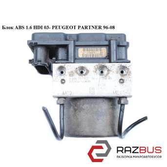 Блок ABS 1.6 HDI 03- PEUGEOT PARTNER M59 2003-2008г PEUGEOT PARTNER M59 2003-2008г