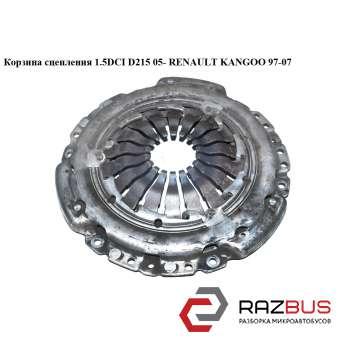 Корзина сцепления 1.5DCI D215 Luk 05- RENAULT KANGOO 1997-2007г RENAULT KANGOO 1997-2007г
