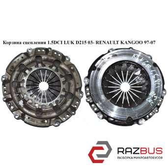 Корзина сцепления 1.5DCI D215 Luk RENAULT KANGOO 1997-2007г RENAULT KANGOO 1997-2007г