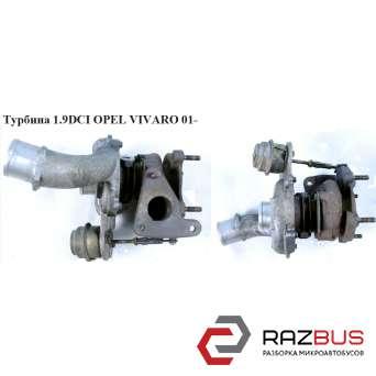 Турбина 1.9DCI RENAULT TRAFIC 2000-2014г