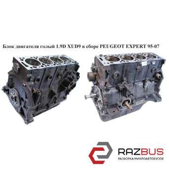 Блок двигателя голый 1.9D XUD9 в сборе PEUGEOT EXPERT II 2004-2006г