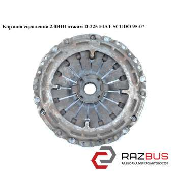 Корзина сцепления 2.0JTD D227 Luk отжим под демпер FIAT SCUDO 2004-2006г FIAT SCUDO 2004-2006г