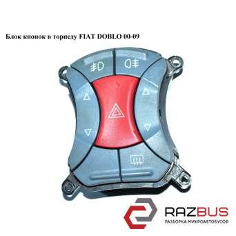 Блок кнопок в торпеду FIAT DOBLO 2000-2005г