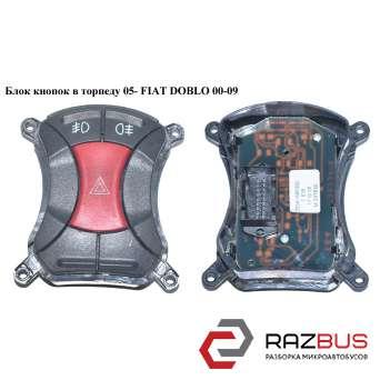 Блок кнопок в торпеду 05- FIAT DOBLO 2000-2005г