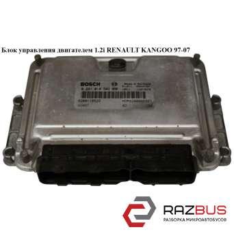 Блок управления двигателем 1.2i 8v NISSAN KUBISTAR 2003-2008г NISSAN KUBISTAR 2003-2008г