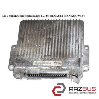 Блок управления двигателем 1.2i 8v RENAULT KANGOO 1997-2007г