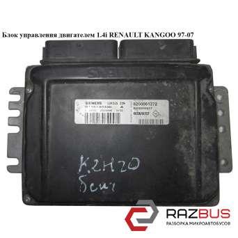 Блок управления двигателем 1.4i RENAULT KANGOO 1997-2007г