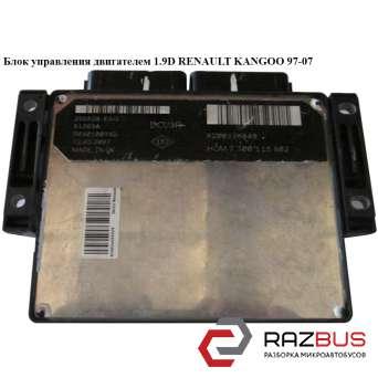 Блок управления двигателем 1.9D RENAULT KANGOO 1997-2007г RENAULT KANGOO 1997-2007г