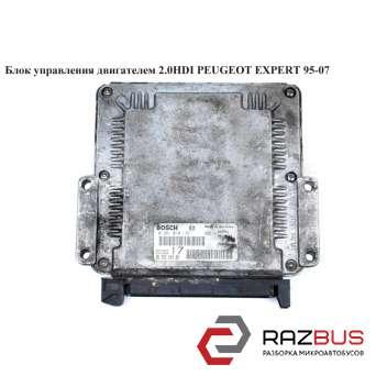 Блок управления двигателем 2.0HDI CITROEN JUMPY 1995-2004г