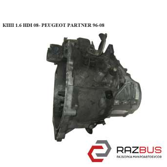 КПП 1.6 HDI 08- CITROEN BERLINGO M59 2003-2008г