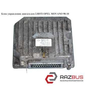 Блок управления двигателем 2.8DTI RENAULT MASTER II 1998-2003г RENAULT MASTER II 1998-2003г