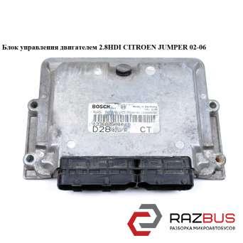 Блок управления двигателем 2.8HDI PEUGEOT BOXER II 2002-2006г
