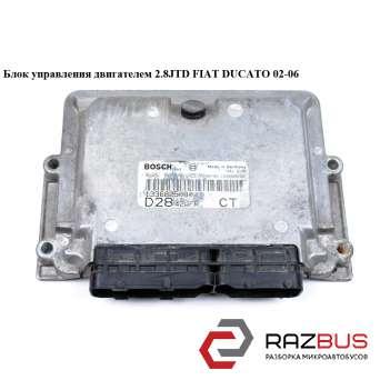 Блок управления двигателем 2.8JTD PEUGEOT BOXER II 2002-2006г