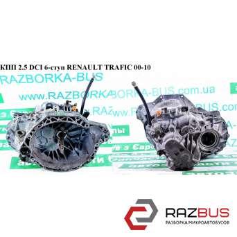 КПП 2.5DCI 6-ступ RENAULT TRAFIC 2000-2014г RENAULT TRAFIC 2000-2014г