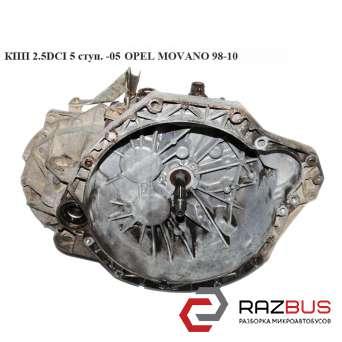 КПП 2.5DCI 5ступ.-05 OPEL MOVANO 1998-2003г
