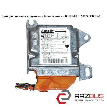 Блок управления подушками безопастности RENAULT MASTER II 1998-2003г RENAULT MASTER II 1998-2003г