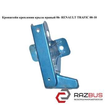 Кронштейн крепления крыла правый 06- RENAULT TRAFIC 2000-2014г RENAULT TRAFIC 2000-2014г