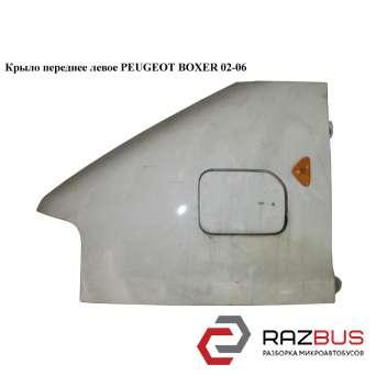 Крыло переднее левое PEUGEOT BOXER II 2002-2006г