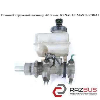 Главный тормозной цилиндр -03 5 выходов RENAULT MASTER II 1998-2003г RENAULT MASTER II 1998-2003г